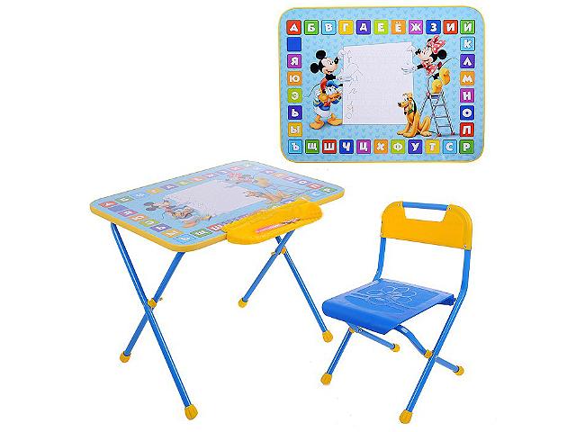 """Комплект  детский складной стол + стул """"Дисней""""  в кор. """"Ника"""""""