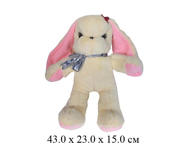 "Игрушка мягконабивная Заяц ""Милашка"" 45 см. Ягуар"