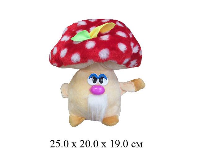"""Игрушка мягконабивная  гриб """"Мухомор"""" средн.Ягуар"""