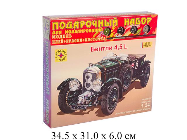 Сборная модель  автомобиль  Bentley 4,5L (1:24) Моделист