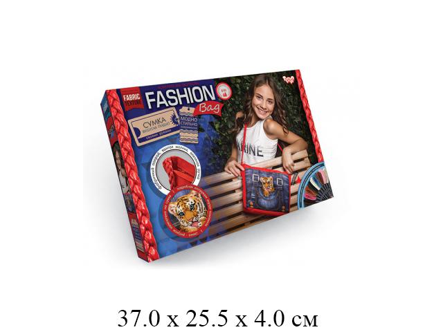 "**Н/для творчества - сумка,  вышивка гладью, Тигренок ""Fashion Bag "" FBG-01-03 ""Данко"""