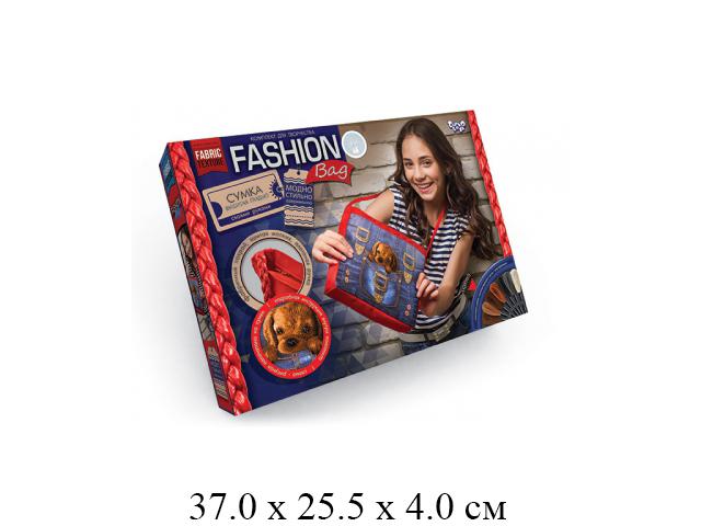 "**Н/для творчества - сумка,  вышивка гладью, Щенок ""Fashion Bag "" FBG-01-04 ""Данко"""