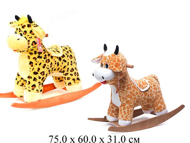 Качалка- Бычок коричневый См-440-15 Нижегородская игрушка