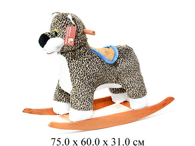 Качалка-Леопард См-440-15 Нижегородская игрушка