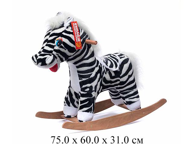 Качалка- Зебра полосатый См-440-4Нижегородская игрушка