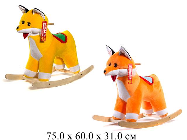 Качалка-Лиса ЭКО желтый См-750-4 Нижегородская игрушка