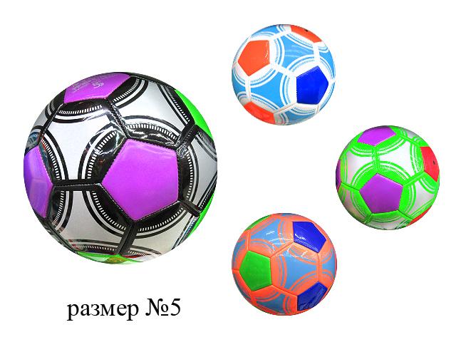 Мяч футбольный  №5 PVC (4 цвета)