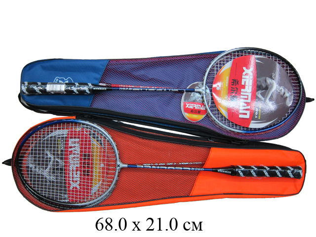 Н/2 шт. ракетки для бадминтона Xier Man PRO-260 (2 цвета) в чехле