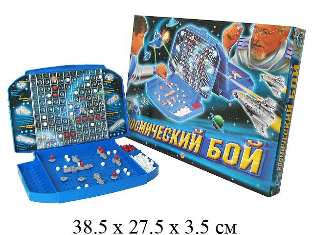 """Игра настольная """"Космический бой """" в кор. """"Биплант"""""""