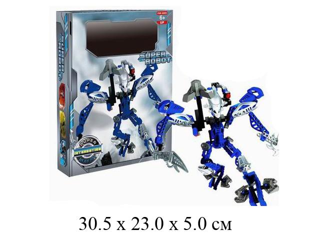 """""""Конструктор Super Robot - робот в кор. 45201"""