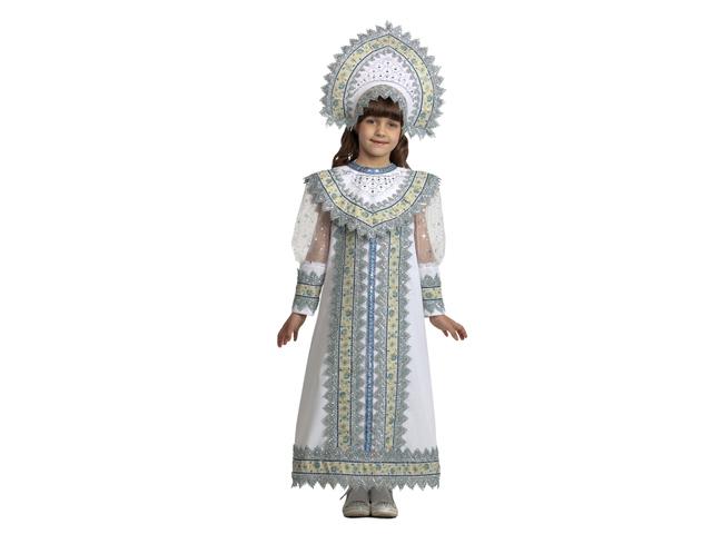 1201 Карнав.костюм Снегурочка Сударыня р-р 32