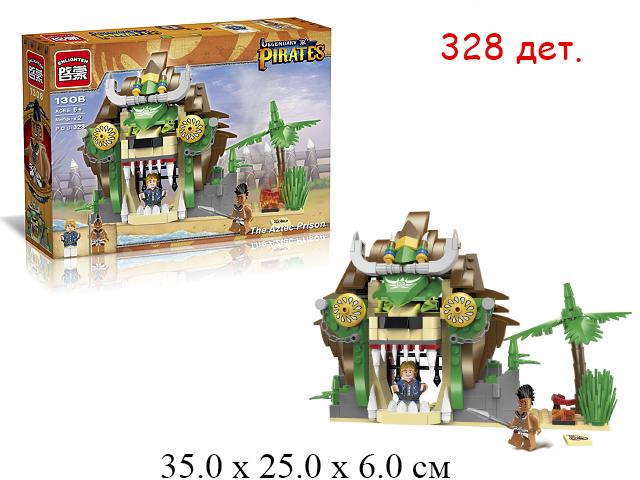 Конструктор - замок пиратский Pirates в кор.Brick (Shifty)328 дет. 1308