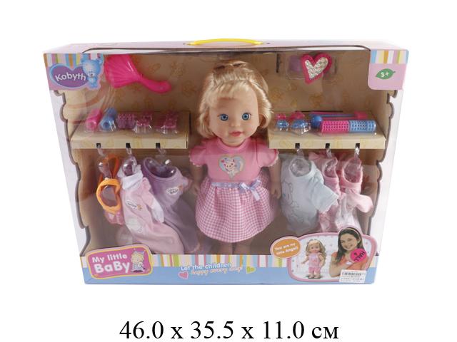 Кукла  + платья + аксессуары в кор. MZT8948
