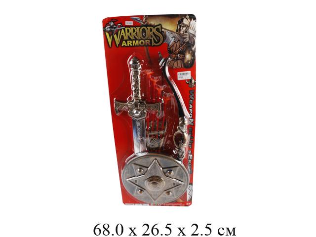 Н/рыцарский (меч, щит, лук со стрелами) на карт. 63535