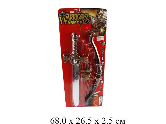 Н/рыцарский (меч, лук со стрелами) на карт. 63537