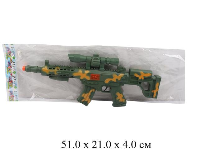 Автомат - трещетка в пак. M66A-P