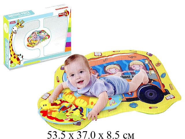 Коврик для малыша с погремушками в кор. 023-1C