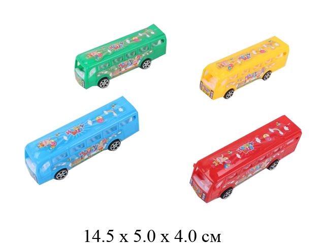 Автобус инерц. в пак. 2 цв.