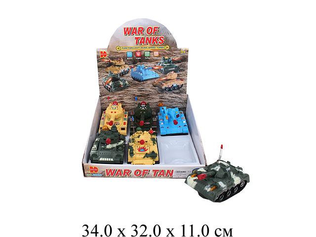 Танк на бат. в диспл. 3 цв.6020