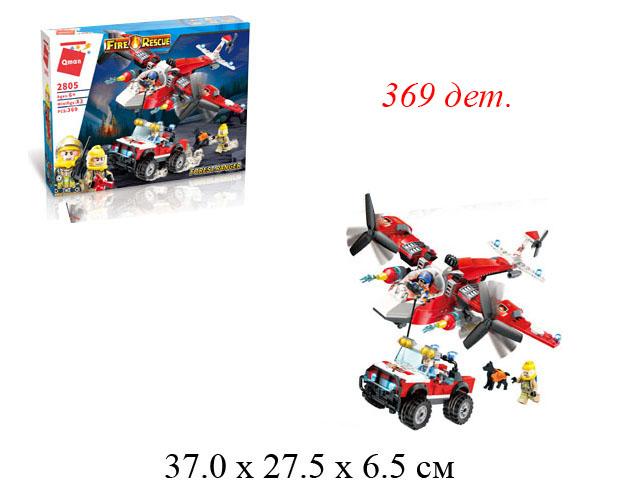 "Конструктор ""Fire Rescue"" 369 дет.в кор.2805 Brick (Qman)"