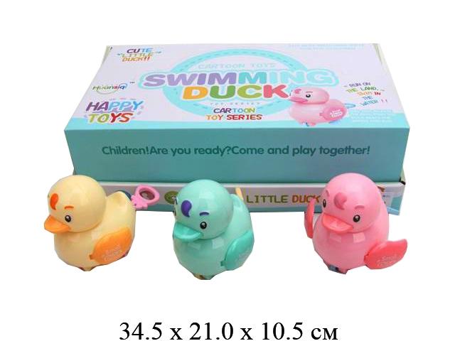 Игрушка для малышей  птичка 4 цв.в диспл. 262-23