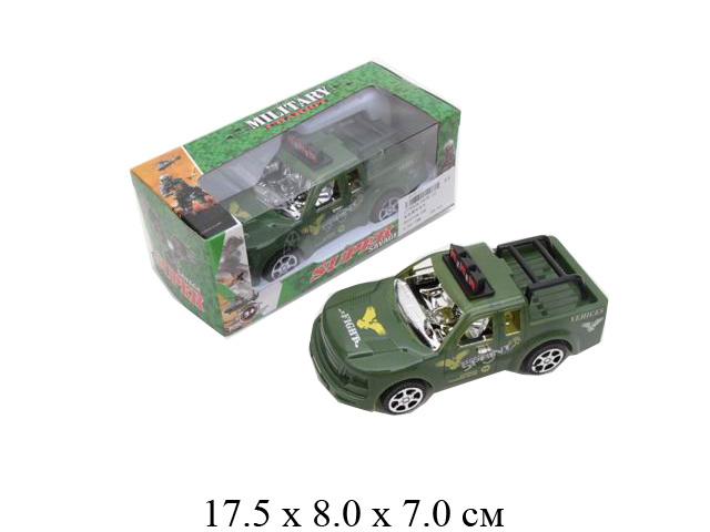 Машина военн.фрикц. в кор.0628-12