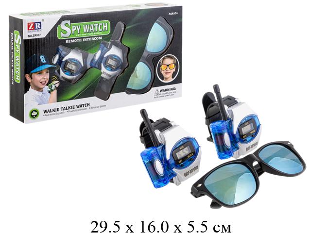 Н/рация-часы+очки в кор.807