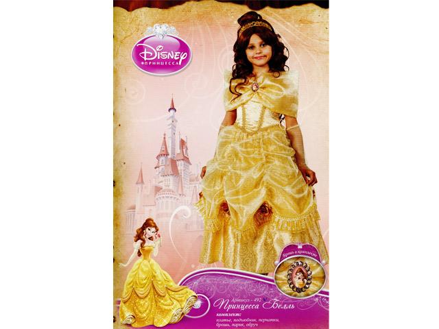 492 Карнав.костюм Принцесса Белль р-р30 (зв. маскарад)