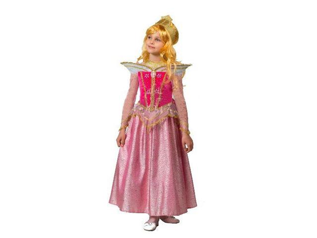 493 Карнав.костюм Принцесса Аврора р-р30 (зв. маскарад)