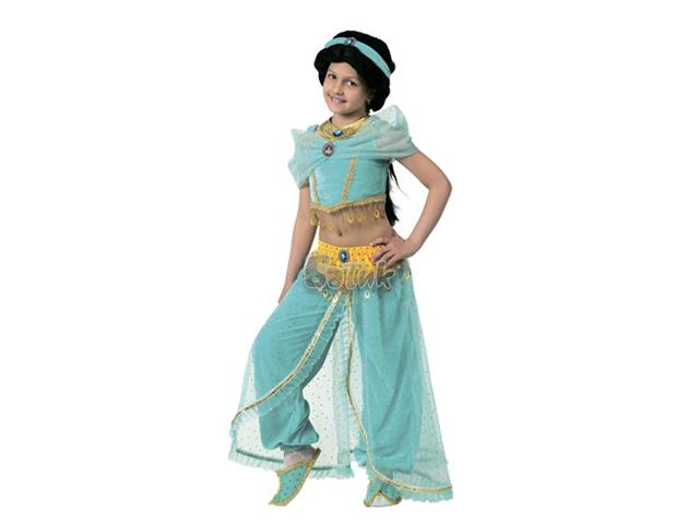 497 Карнав.костюм Принцесса Жасмин р-р 30 (зв. маскарад)