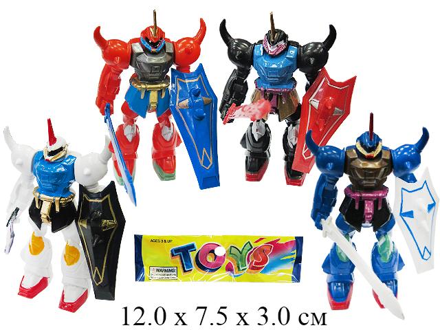 Робот (4 вида) в пак.3399