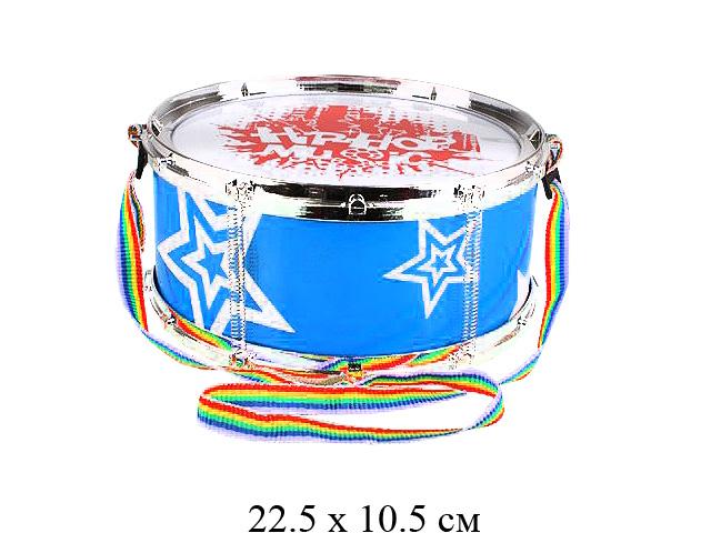 Барабан Hip Hop (2 цвета) в пак. 586-7A