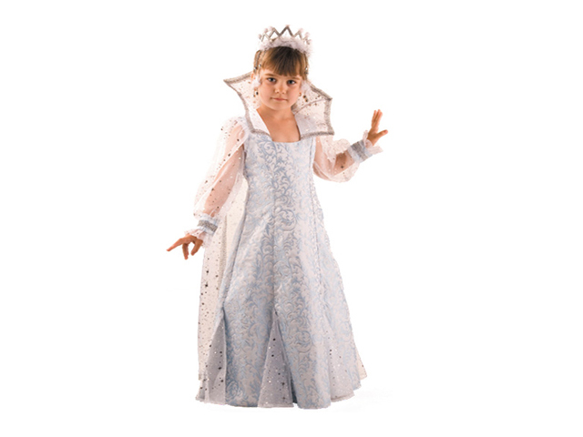 915 Карнавальный костюм Снежная Королева р-р36+ДИАДЕМА