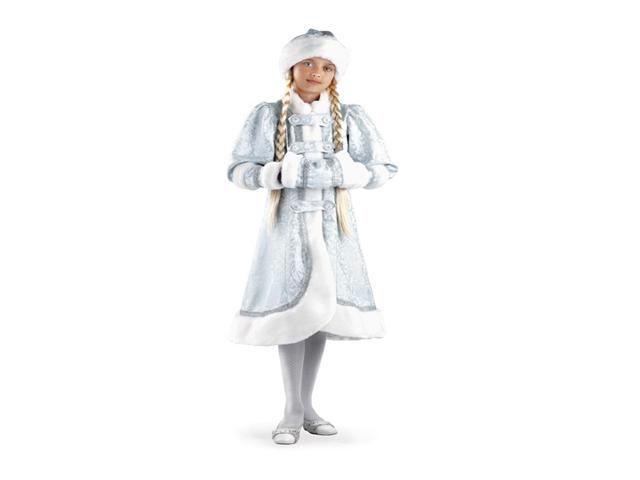 918 Карнавальный костюм Снегурочка Княжеская р-р36
