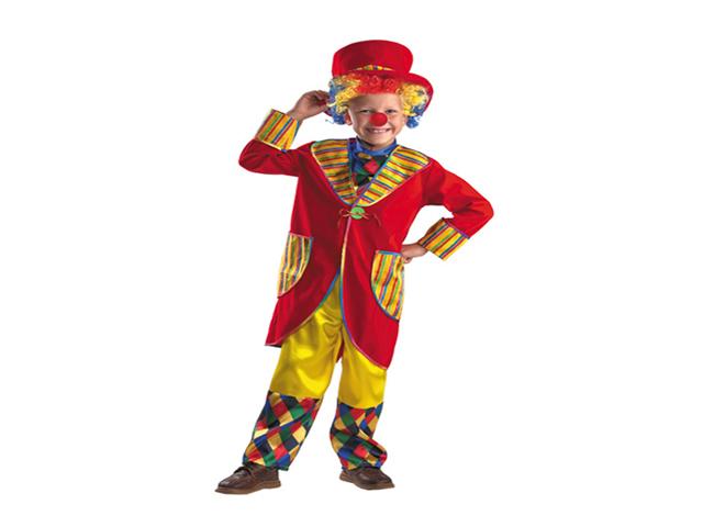 926 Карнавальный костюм Клоун Франт красный р-р 34