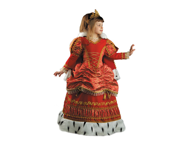 939 Карнав.костюм Царица р-р 30 (к-премьер)
