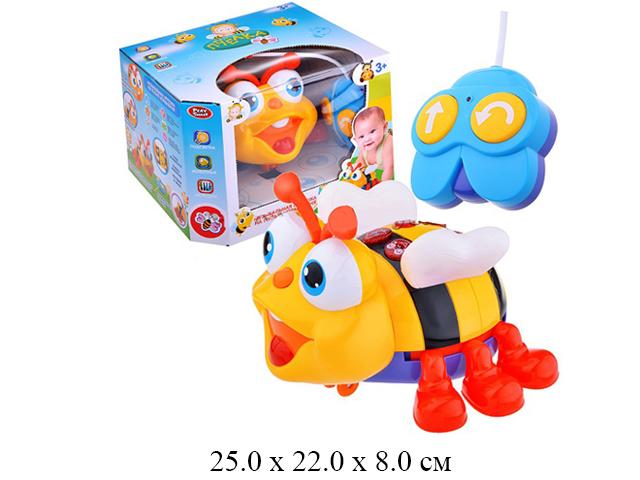 Р/у пчела на бат. (свет, звуки животных, мелодии, звук) в кор. Play Smart