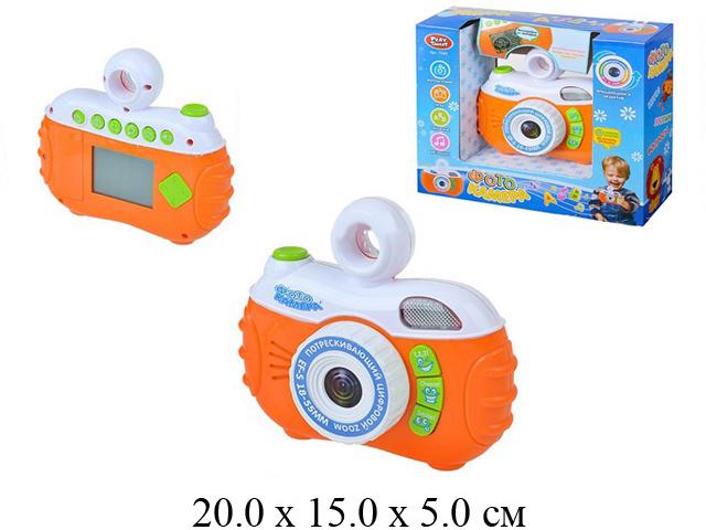 Фотокамера на бат. (свет, звук, игры, ж/к экран) в кор. Play Smart