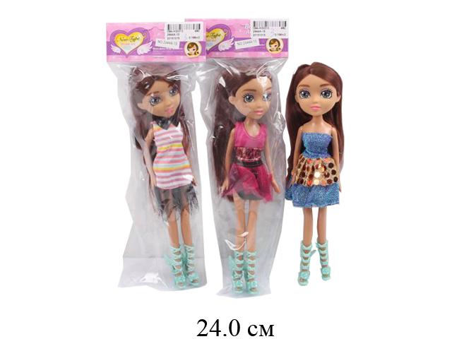 Кукла гнущ. (3 вида) в пак.