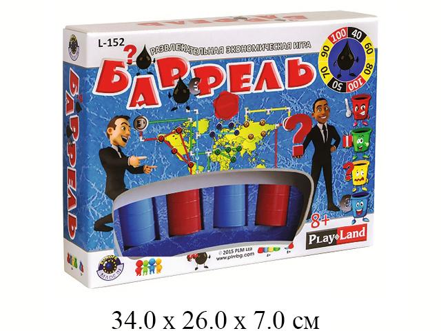 Игра настольная экономическая «Баррель» в кор. Play Land