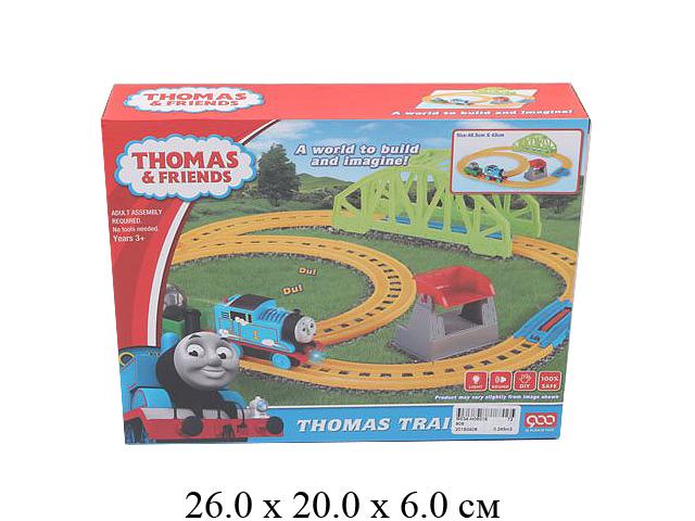 """Ж/д ""148"" (паровоз на бат. (свет, звук поезда), вагон) в кор."