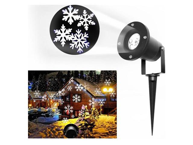 Проектор-снежинки кружащиеся на дом,потолок  в кор.Waterproof Outdoor LED