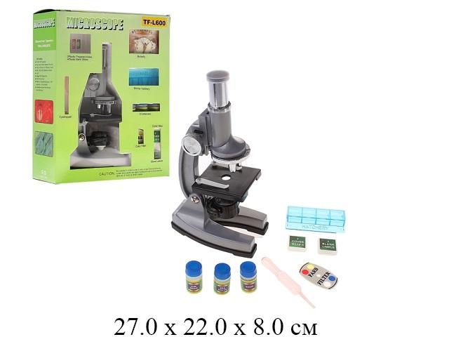 Микроскоп + лабораторный набор в кор.