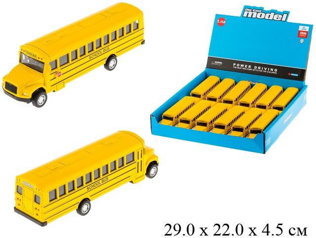 Школьный автобус металл. инерц.в диспл.TN-1150