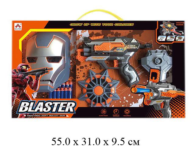 Н/маска+оружие с присосками в кор.SB477
