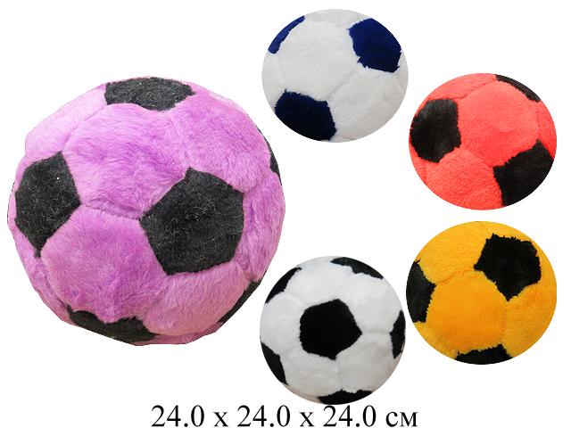 Игрушка мягконабивная  мяч футбольный мал. Ягуар